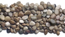 Polished stones background Royalty Free Stock Images