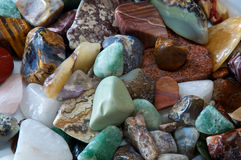Polished stones detail Royalty Free Stock Images