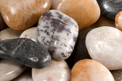Polished Stones Macro Stock Photo