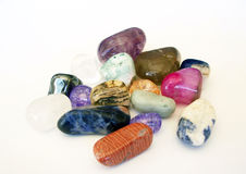 Polished Stones or Rocks. Photo of a groupl of polished stones or rocks Royalty Free Stock Photo