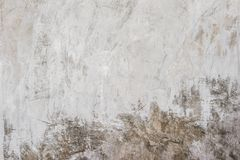Polished wall dark color cement stock image