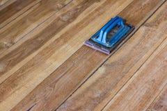 Polished wood Royalty Free Stock Image