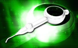 Polisher dental Handpiece do ar Fotos de Stock