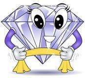 Polishing Diamond Royalty Free Stock Images