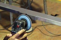 Polishing machine Stock Image