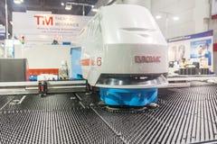 Polishing machines Stock Photo