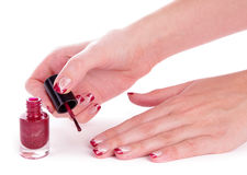Free Polishing Nails Stock Photos - 14086033