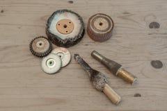 Polishing tools Stock Images