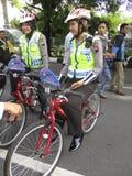 Poliskvinnor Arkivfoto