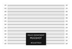 Polislineup eller mugshotbakgrund ocks? vektor f?r coreldrawillustration vektor illustrationer
