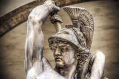 Polissena statue in Loggia de Lanzi Royalty Free Stock Photography