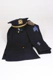polissergeant Arkivbilder