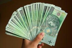 Polissez l'argent disponible Image libre de droits