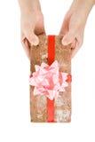 polisson de cadeau Photographie stock libre de droits