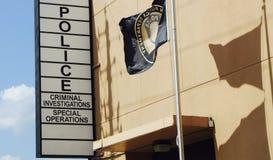 Polisstation royaltyfria foton