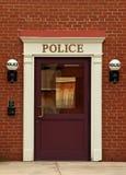 polisstation Arkivbilder