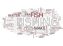 The Polite Angler Text Background  Word Cloud Concept Stock Images
