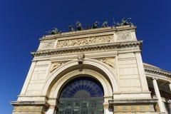 Politeama opera house Stock Image