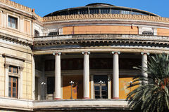 Politeama theater, palermo, sicily Royalty Free Stock Photography