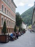 Politehnicii Street, Brasov, Romania royalty free stock photos