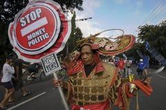 Politica dei soldi di scarto Fotografia Stock Libera da Diritti