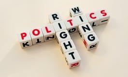 Politica della destra fotografia stock
