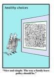 Politica di permesso di famiglia illustrazione vettoriale