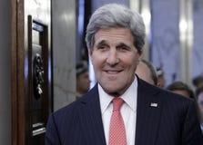 Politica John Kerry della Bulgaria Stati Uniti Fotografia Stock Libera da Diritti