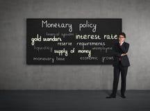 Politica monetaria immagini stock libere da diritti