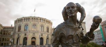 Politica norvegese Immagini Stock