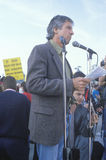 Political activist, Tom Hayden Stock Photo