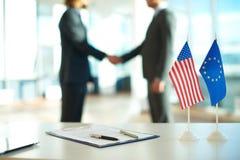 Political agreement Stock Photos