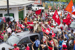 Political campaign rally of the opposition in Nicaragua Stock Photo