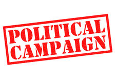 POLITICAL CAMPAIGN Royalty Free Stock Images