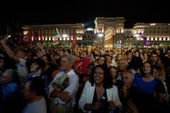 Political celebration in Italy Stock Photos