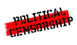 Political Censorship rubber stamp Stock Photos