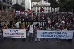 Political crisis in Brazil Stock Photos