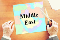Political crisis in Middle East Stock Photography