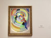 Political drama by Robert Delaunay Stock Image