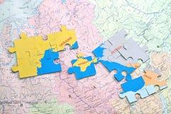 Political games in Europe. Ukraine, Georgia Stock Images