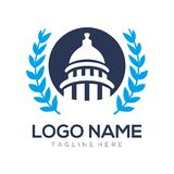 Political logo and icon design royalty free illustration