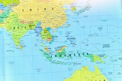 Political Map Of Southeast Asia.Political Map Of Southeast Asia Countries Stock Image Image Of