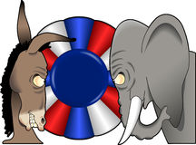 Political_mascots_02 Stock Image