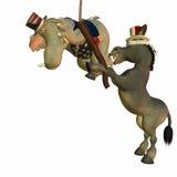 Political Party - Pinata. Political Party Games - Pinata royalty free illustration