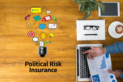 Political Risk Insurance Failure Financial  Insurance Royalty Free Stock Photo