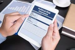 Political Risk Insurance Failure Financial  Insurance Royalty Free Stock Photos
