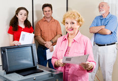 Politically Active Senior Stock Images