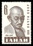 Politici famosi, Mahatma Gandhi Fotografie Stock Libere da Diritti