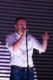 Politician Alexei Navalny speaking at the Stock Photos