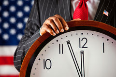 Politician: Close to Midnight Royalty Free Stock Image